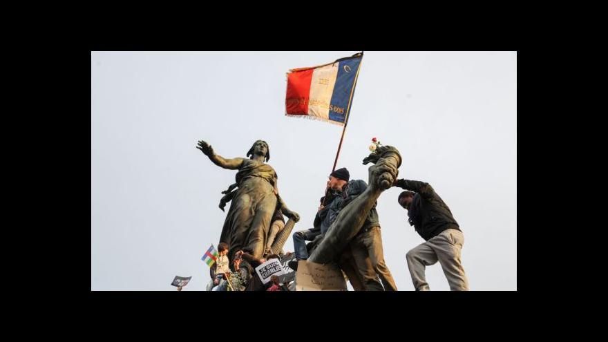 Video Události: Masový pochod v Paříži odmítl terorismus