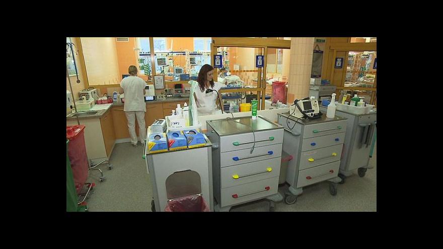 Video Nemocnice řeší nedostatek specializovaných sester