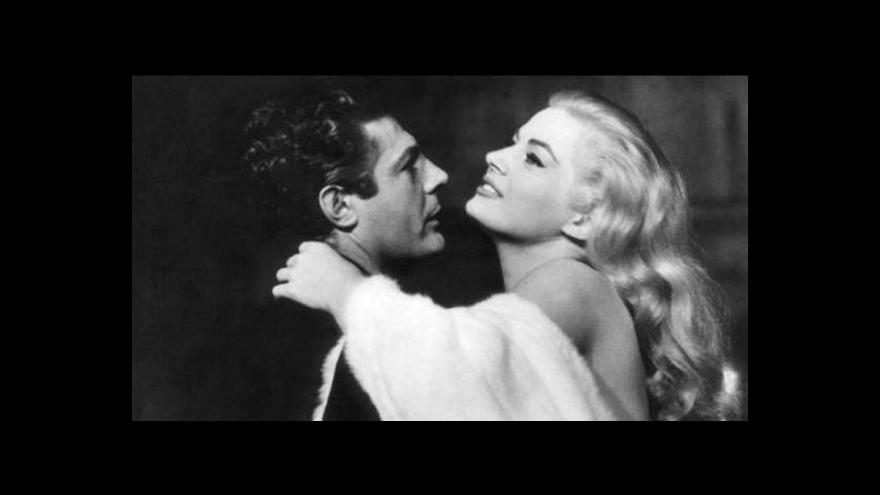 Video Události v kultuře: Zemřela Felliniho múza Anita Ekbergová
