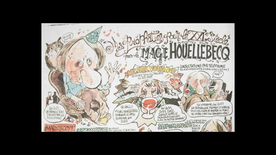 Video Tým Charlie Hebdo chystá nové číslo - a chce bavit dál