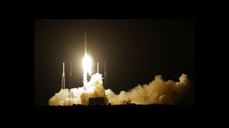 Video Dragon odstartoval se zásobami k ISS, revoluční doplněk se nezdařil