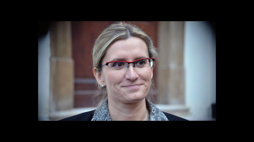 Video Šlechtová v událostech, komentářích k eurodotacím