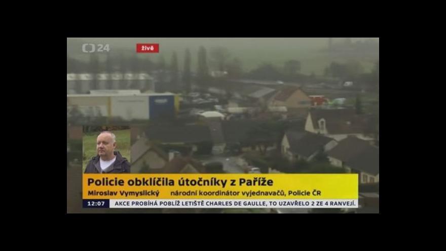 Video Národní koordinátor vyjednavačů Vymyslický k situaci ve Francii