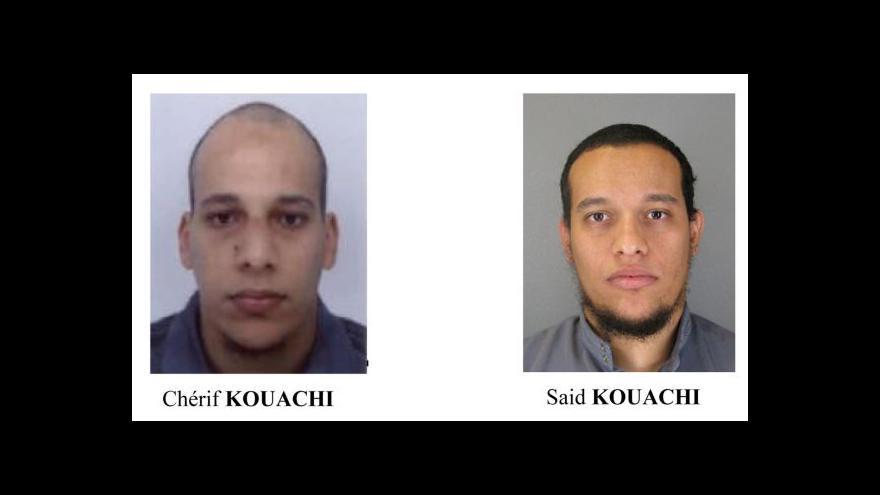 Video Bratři Kouachiové byli v hledáčku amerických tajných služeb