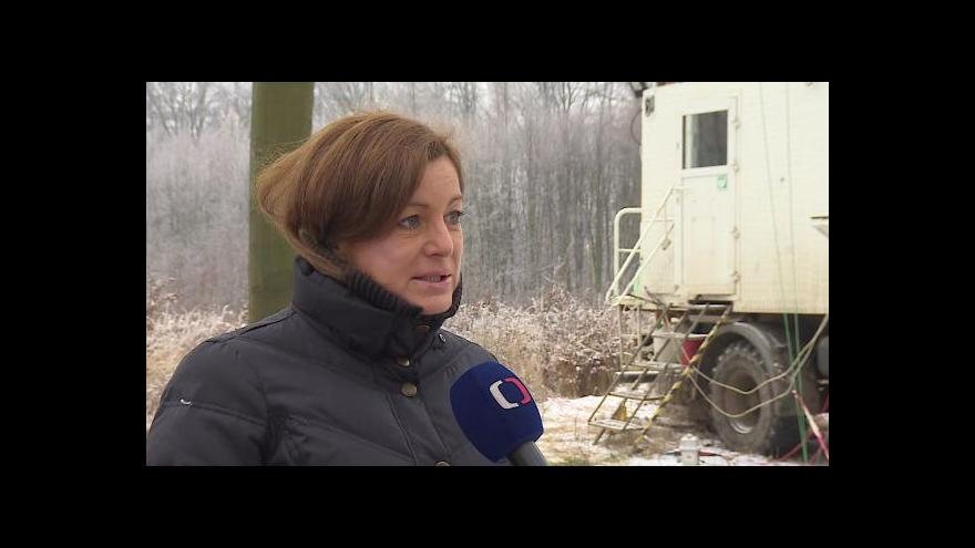 Video O hledání ropy hovoří mluvčí firmy MND Dana Dvořáková