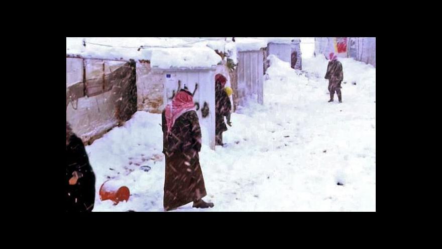 Video Na Blízkém východě udeřila zimní bouře Huda