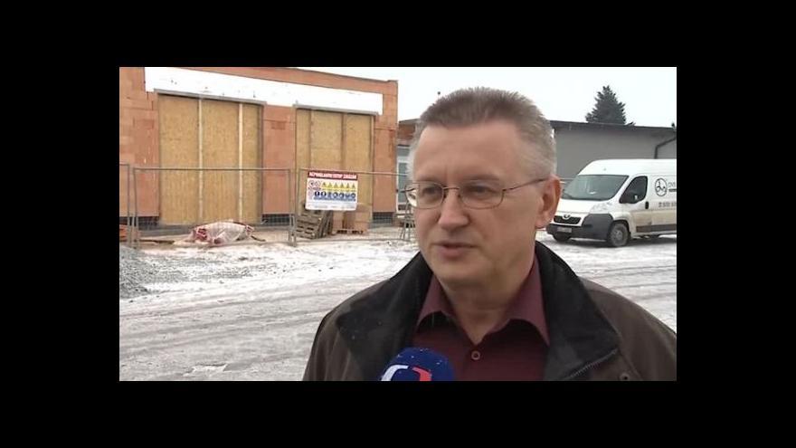 Video O stanovišti záchranky hovoří starosta Morkovic Pavel Horák (nez.)