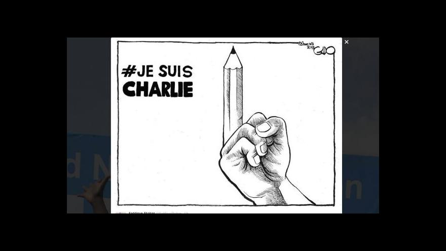 Video Studio ČT24: Jak reagují sociální sítě na teroristický útok ve Francii