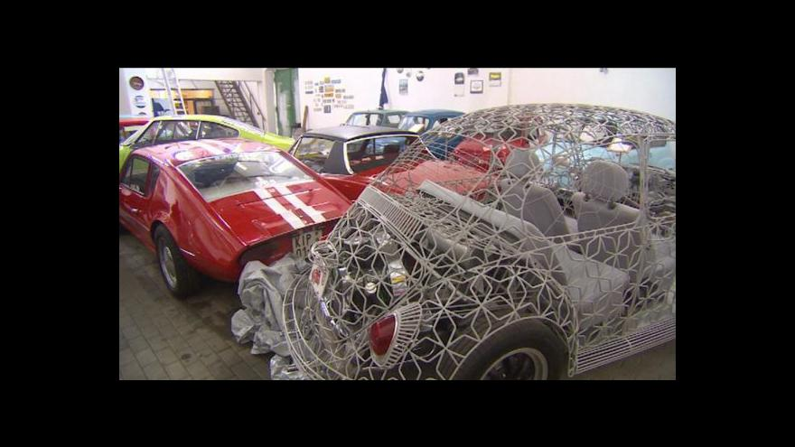Video Obnovené Automuzeum ve Vratislavicích