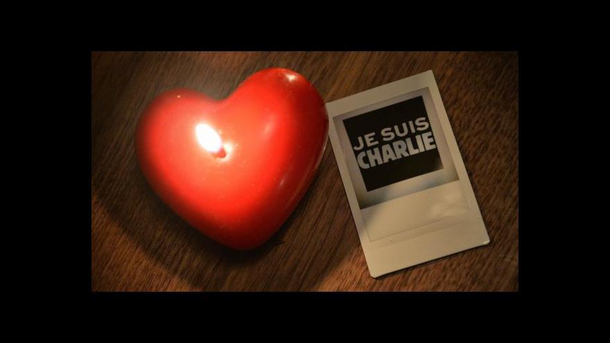 Video Útok na Charlie Hebdo vyvolal vlnu solidarity po celém světě