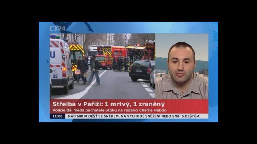 Video Assem Attasi vyjadřuje postoj českých muslimů k útokům v Paříži