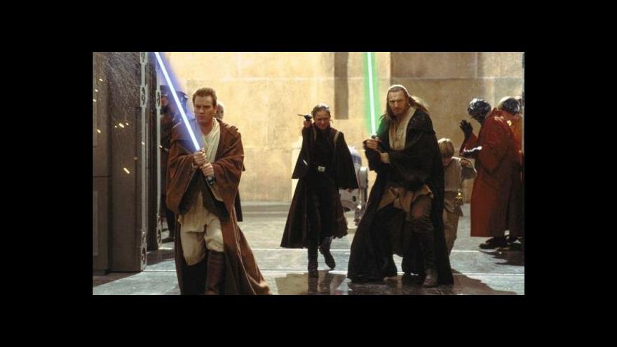 Video Hvězdné války jako koncert
