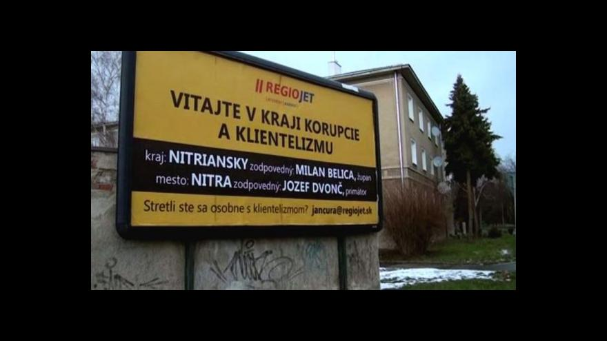 Video Radim Jančura bojuje na Slovensku proti korupci