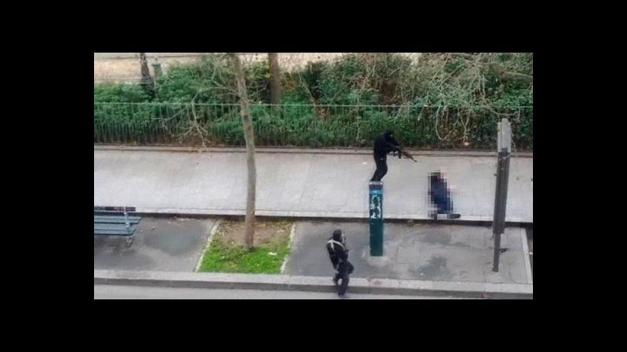 Video Horizont ČT24 ke krveprolití v redakci Charlie Hebdo