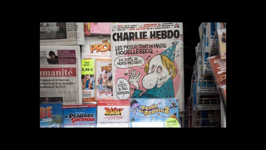 Video Francouzský zpravodaj v Česku: Svoboda slova po útoku posílí
