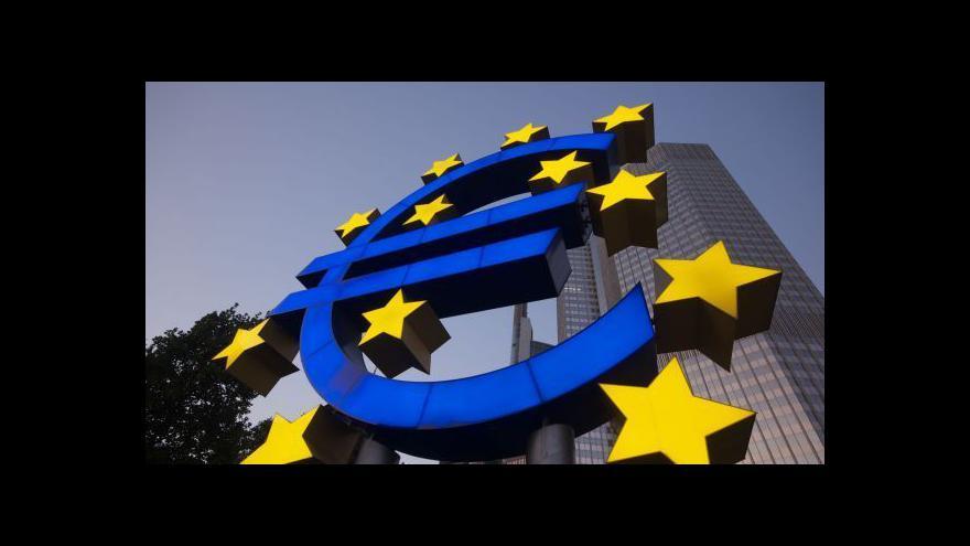 Video Brožka: Deflace je pro lidi z eurozóny zatím pozitivní zprávou
