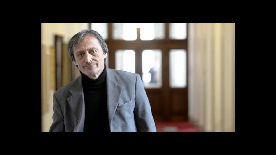 Video Stropnický: Společně s Bečvářem musíme dostavět armádu