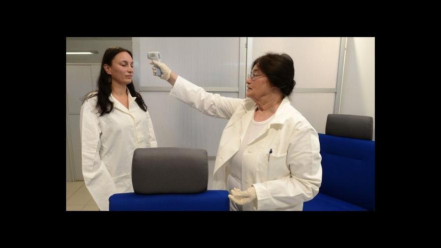 Video Události ČT: Karty kvůli ebole už letadla nerozdávají