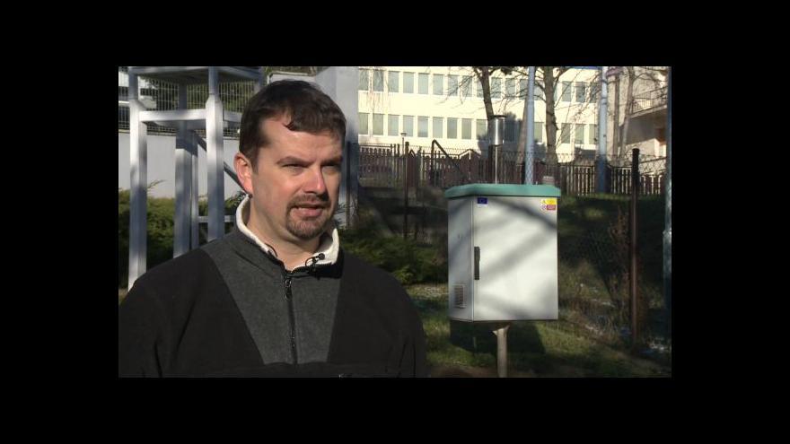 Video O znečištění ovzduší v Brně hovoří Robert Skeřil z ČHMÚ