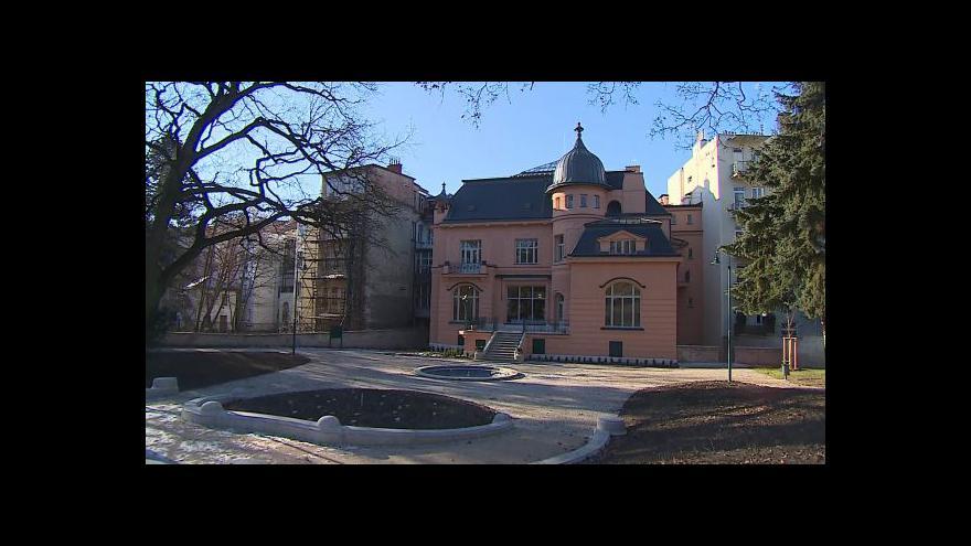 Video Projděte se Löw-Beerovou vilou s její vedoucí Petrou Svobodovou