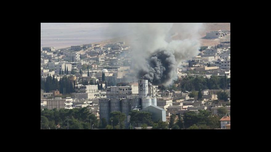 Video Zpravodaj ČT: Kobani je především symbol