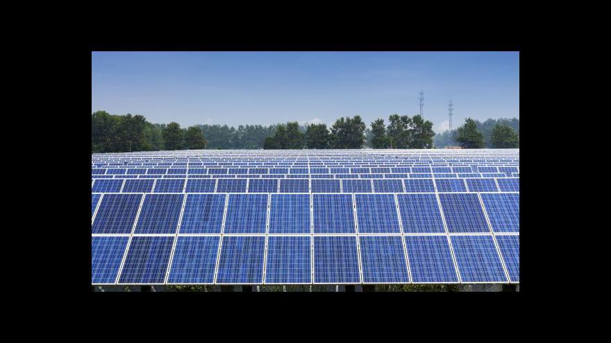Video Události ČT: Bilion korun na podporu zelené energie do roku 2030