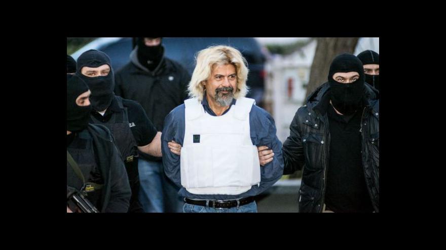 Video Řecká policie zadržela známého teroristu
