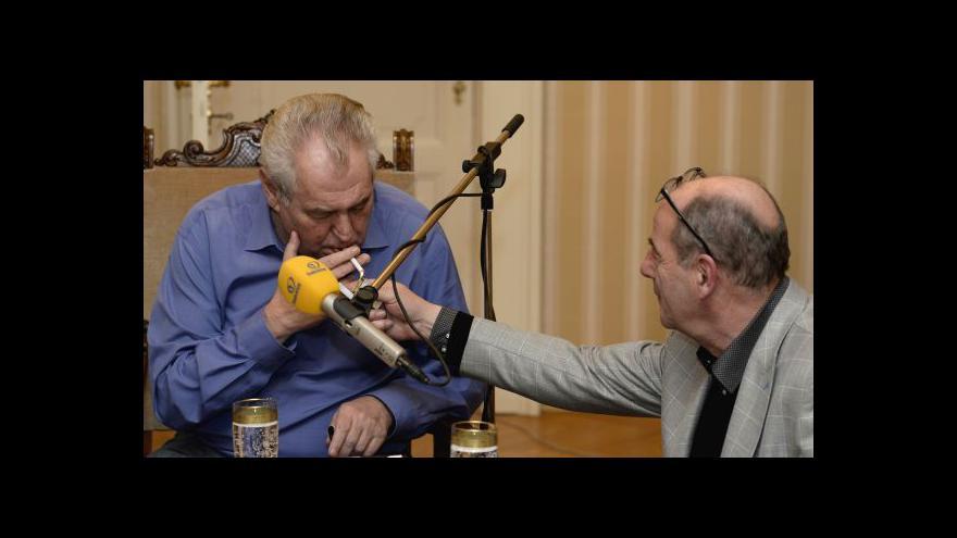 Video Michael Romancov k Zemanovým výrokům o Ukrajině