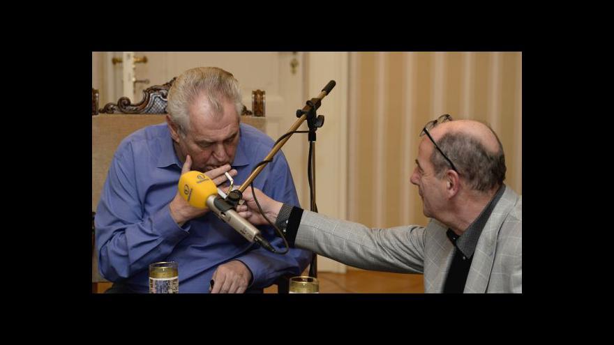 Video Petr Hartman k Zemanovým výrokům na Frekvenci 1