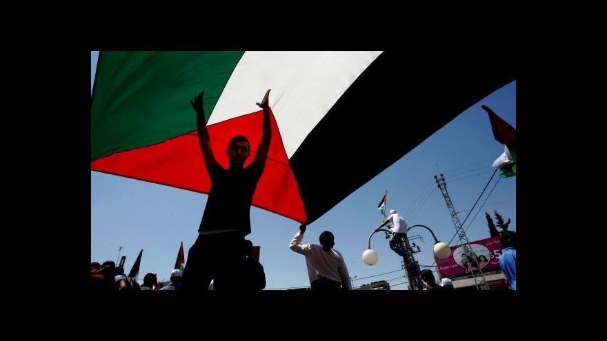 Video Abbás opět požádá OSN o uznání Palestiny