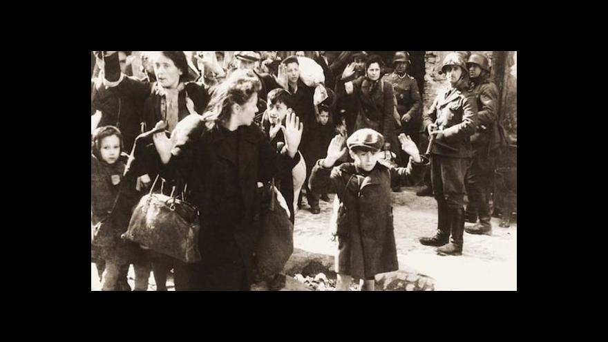 Video Hrdina povstání varšavského ghetta vzpomíná v ČT