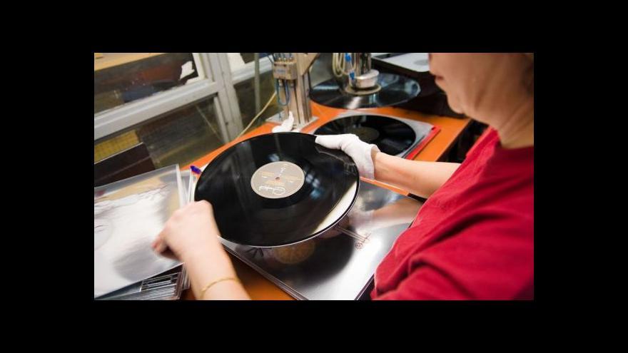Video Gramofonové desky zažívají boom