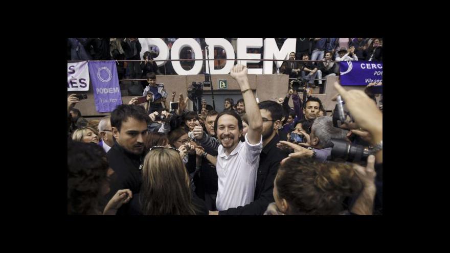 Video Události ČT: Podemos vyhlíží volby ve Španělsku
