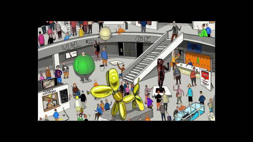 Video Komiksový průvodce moderním uměním
