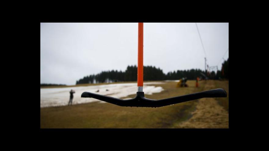 Video Skiareálům se v Lužických horách nedaří