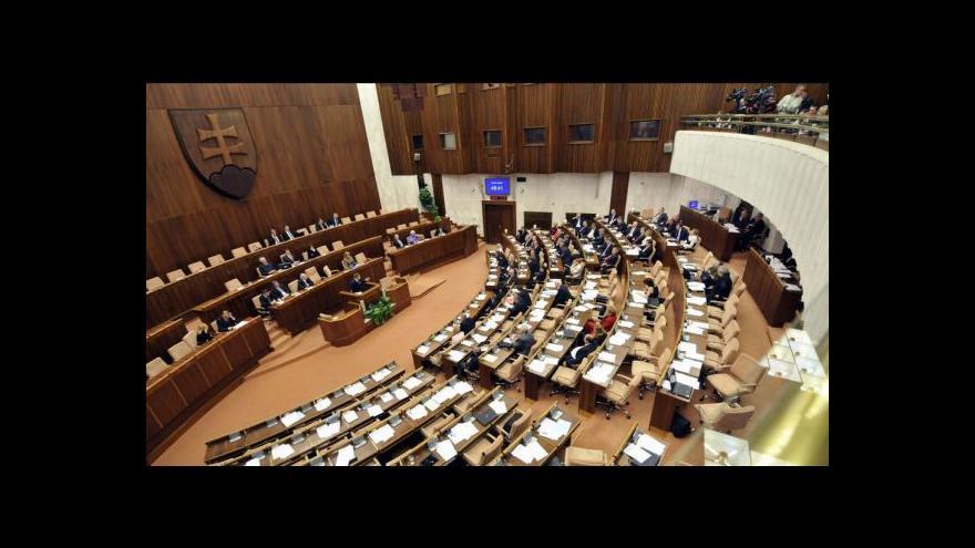 Video Zpravodaj ze Slovenska: SDKÚ padá na dno