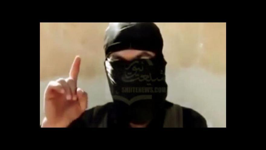 Video Analytik Tureček: Islamisté se mohou na dobytém území udržet dlouho