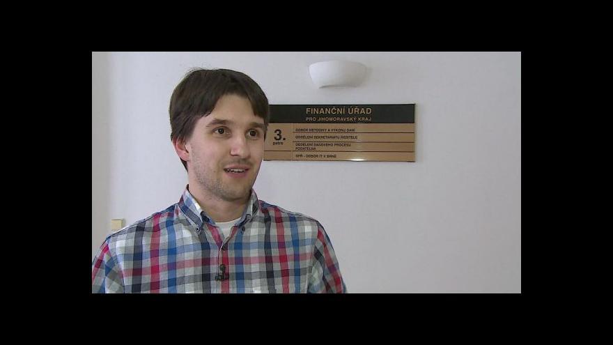 Video O faxech hovoří mluvčí FÚ pro Jihomoravský kraj David Stančík