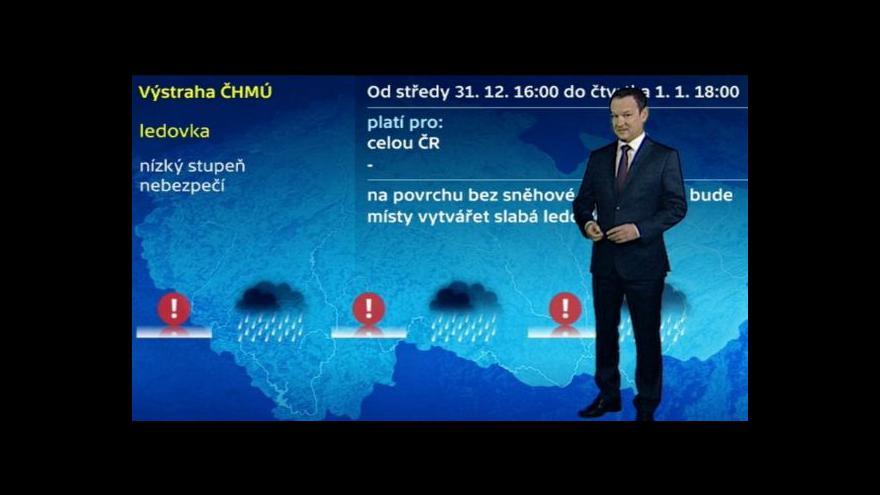 Video Předpověď počasí ČT