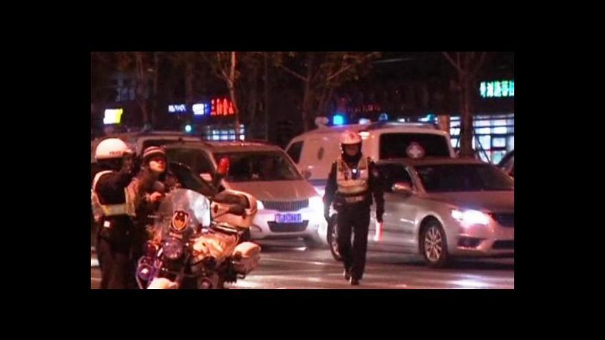 Video Bez komentáře: Silvestr v Šanghaji se změnil v tragédii