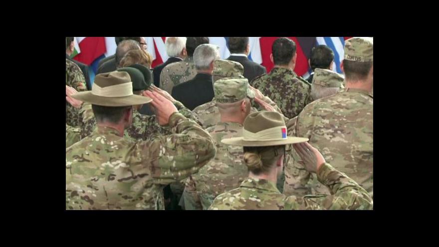 Video Končí bojová mise NATO v Afghánistánu