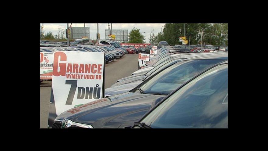 Video Změny při nákupu ojetých aut – na přepsání bude jen deset dnů