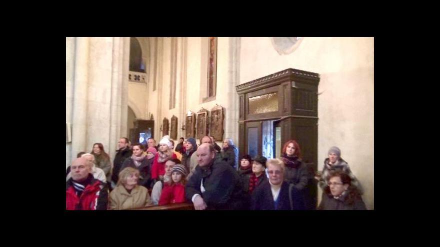Video Koncert k poctě Betlémského světla v Kolíně