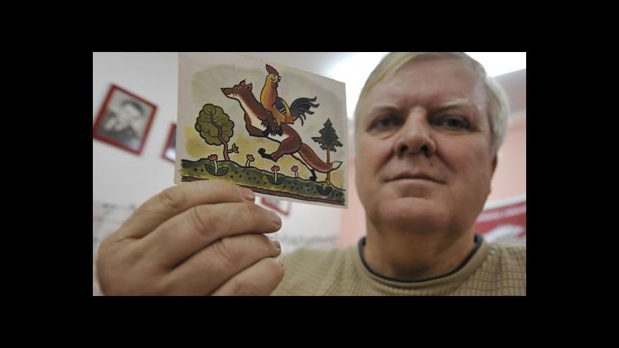 Video Alois Urbánek o sbírce ladovských pohlednic