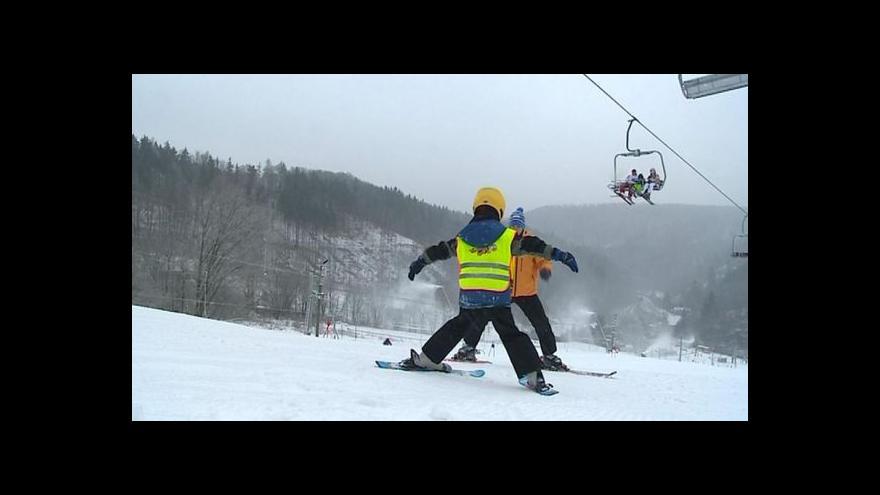 Video Zimní sezona začíná naplno