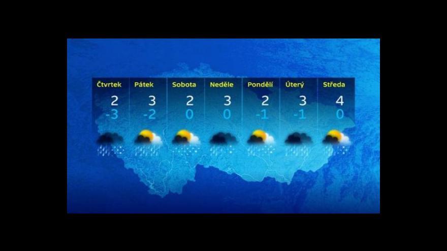 Video Předpověď počasí na Silvestra