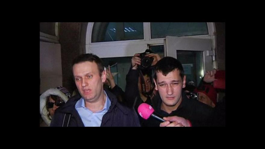 Video Jefim Fištejn: Trest pro Navalného je čistě politickou akcí