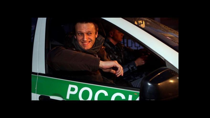 Video Alexej Navalnyj na soudce: Stydím se za to, co děláte