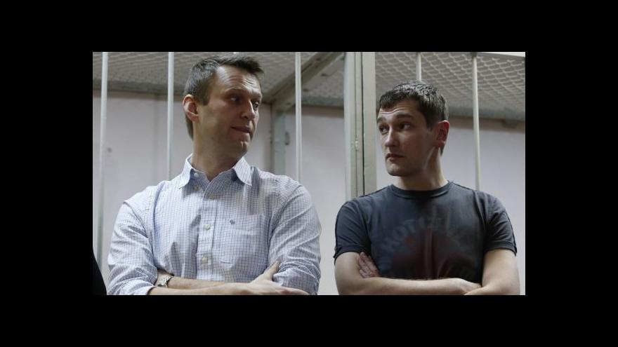 Video Studio 6: Navalnyj dostal 3,5letý podmíněný trest