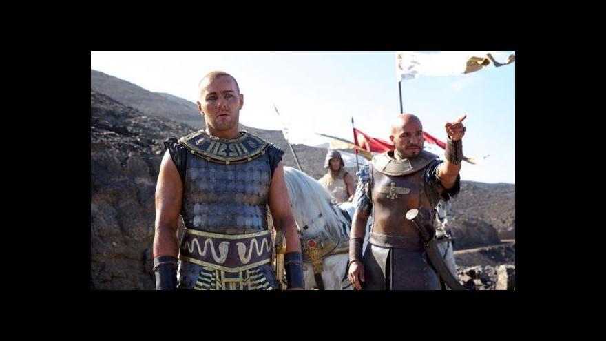 Video Egyptské úřady nepustily film Exodus do tamních kin